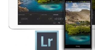 تحديث لتطبيق Adobe Lightroom لمنصة الأندرويد