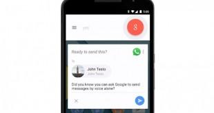 Google Now يتيح لك كتابة رسائل واتس اب و فايبر بصوتك
