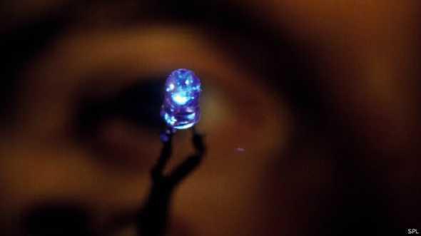 led_bleu